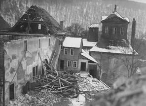 Abriss des Leutenberger Flügels und der Kaisersaalgalerie 1941