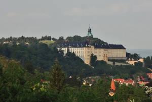 Ansicht des Schlosses von Westen