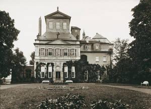 Außenansicht vom Kaisersaal, Schwarz-Weiss-Fotografie