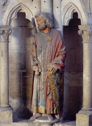 Stifterfigur des Grafen Sizzo von Schwarzburg im Naumburger Dom