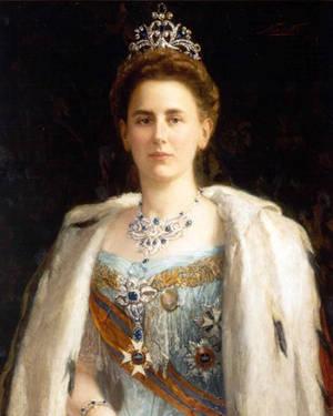 Portrait Königin Wilhelmina