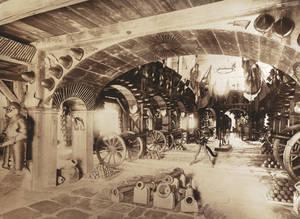Innenansicht des Zeughauses um 1890
