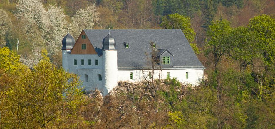 Zeughaus Schwarzburg, Gebäudeansicht außen