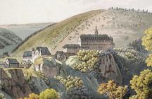 Gemälde von Thierry, Schloss Schwarzburg um 1812