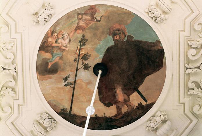 Deckengemälde im Kaisersaal, Bild: Thür. Landesmuseum Heidecksburg Archiv