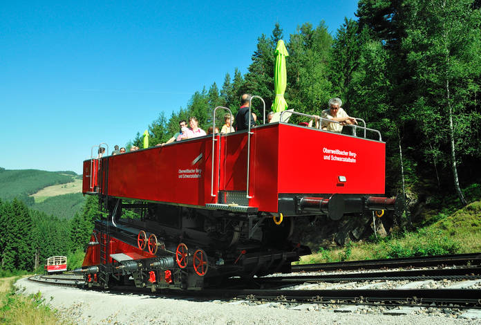 Oberweißbacher Bergbahn, Bild: foto-action.de