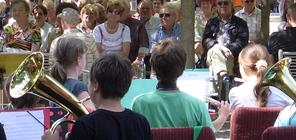 Konzert auf Schloss Schwarzburg