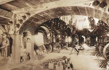 Zeughaus Innenansicht um 1890