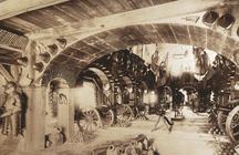 Zeughaus, Innenansicht um 1890