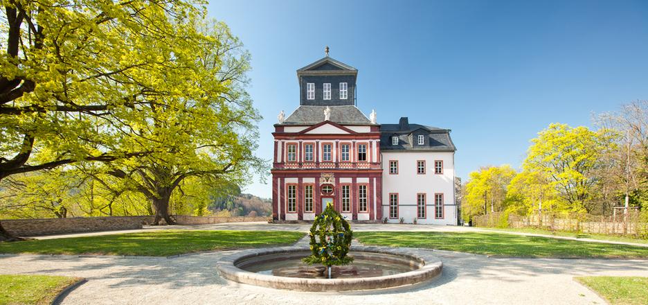 Kaisersaal und Schlosspark