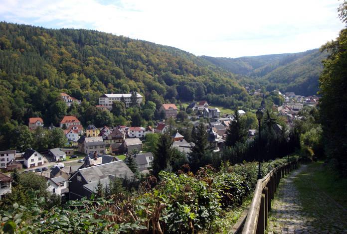 Blick auf Schwarzburg, unterer Ort