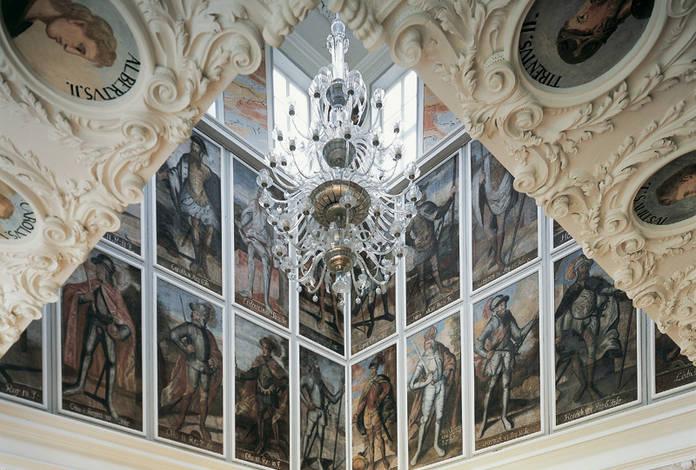 Im Kaisersaal, Bild: Thür. Landesmuseum Heidecksburg Archiv