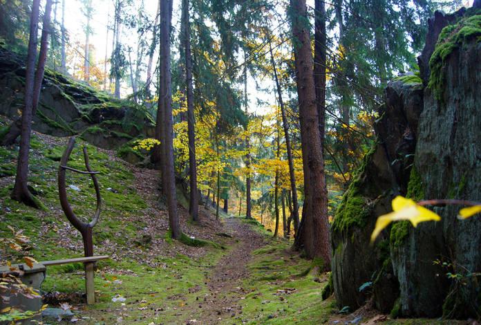 Wanderweg um Schwarzburg
